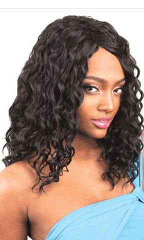 Isis Collection human Hair Blend Weaving Echantress More Hair Spanish Wave 4 Pieces