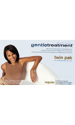 Gentletreatment No Lye Conditioning Creme Relaxer Twin Pak
