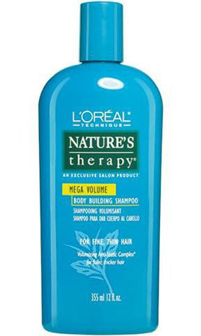 L'oreal Nature's Therapy Mega Volume Body Building Shampoo
