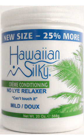 Hawaiian Silky Creme Conditioning No Lye Relaxer Mild Doux