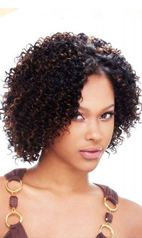 Milkyway Que Human Hair Mastermix Jerry Curl 3 pieces