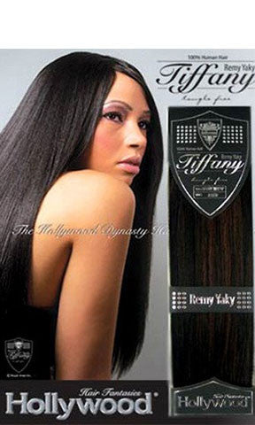 Hollywood Tiffany Remy Human Hair Weaving Yaky