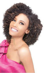 Outre Velvet Human Hair Weaving Remi Short Series Boho Curl 3 pieces