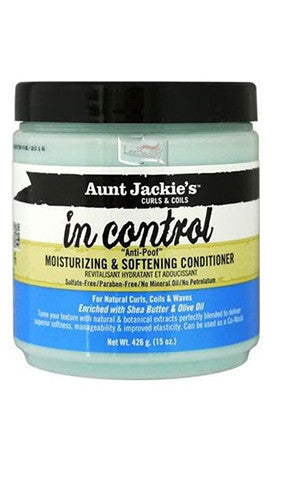 Aunt Jackies In Control Moisturizing and Softening Conditioner 15 oz
