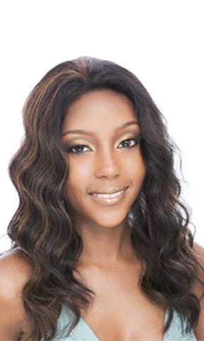 Junee Manhattan Style Lace Front Synthetic Wig Urban Lace Cappuccino