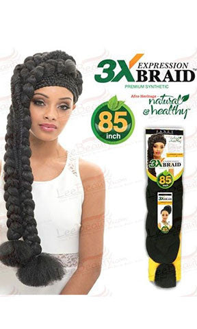 Janet Collection Synthetic Hair Braiding Expression 3X Braid