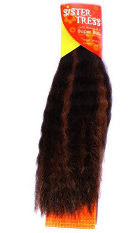 Sister Tress Super Bulk Human Hair (Wet N' Wavy)