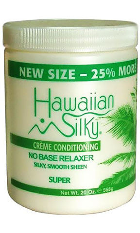 Hawaiian Silky Creme Conditioning No Base Relaxer Super