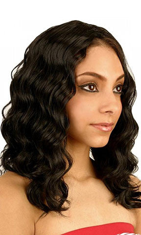 Isis Collection Human Hair Blend Weaving Ripple Deep Weaving