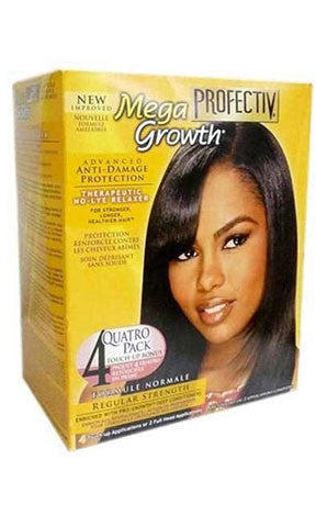 PROFECTIV MEGA GROWTH NO LYE RELAXER SYSTEM REGULAR STRENGTH