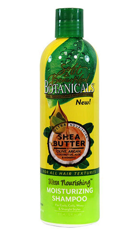 Soft & Beautiful Botanicals Shea Butter Ultra Nourishing Moisturizing Shampoo (12 fl oz.)