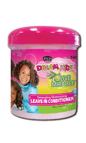 African Pride Dream Kids Olive Miracle Leave-In Conditioner (15 oz.)