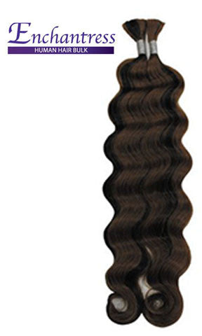 Isis Collection Enchantress Human Hair Braiding Loose Deep Bulk