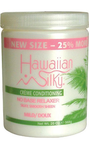 Hawaiian Silky Creme Conditioning No Base Relaxer Mild or Doux