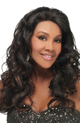 Vivica Fox Lace Front Human Hair Wig Ember