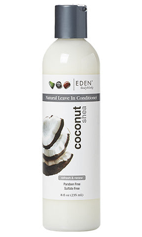 Eden Body Works Coconut Shea All Natural Leave In Conditioner (8 fl oz.)