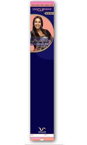 Vivica Fox Human Hair Clip On Extensions
