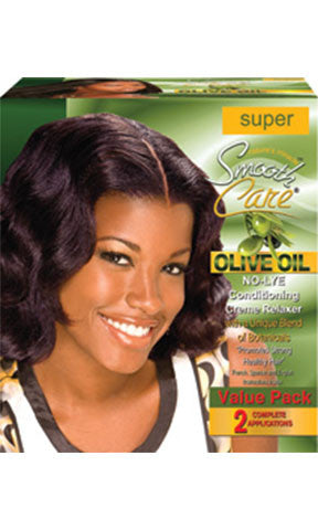 Smooth Care Olive Oil No Lye Relaxer Super