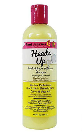 Aunt Jackies Heads Up Moisturizing and Softening Shampoo