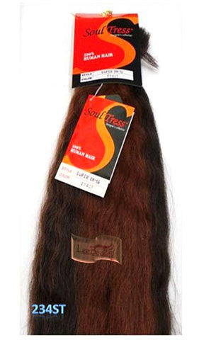 Soultress Human Hair Braiding Super Bulk