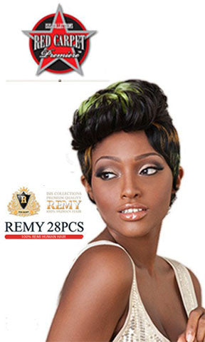 Isis Collection Red Carpet Premiere Remy Human Hair Weaving 28 pieces