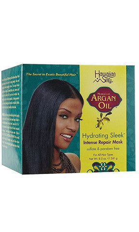 Hawaiian Silky Argan Oil Hydrating Sleek Intense Repair Mask