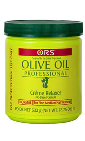 Organic Root Stimulator Olive Oil Creme Relaxer