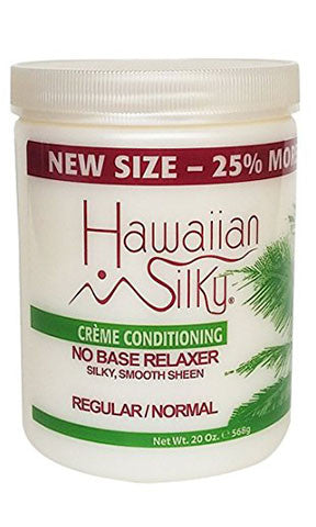 Hawaiian Silky Creme Conditioning No Base Relaxer Regular or Normal