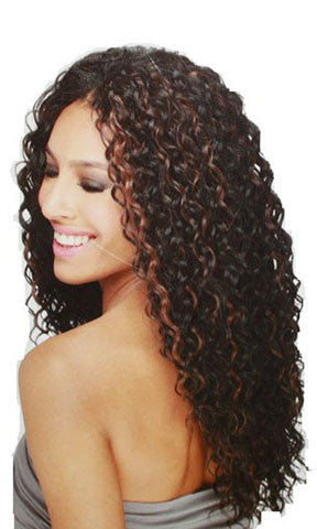 Freetress Equal Synthetic Hair Weaving  Beach Curl