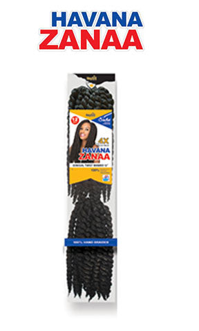 Havana Zanaa Box Braid 4X Value Pack 12""