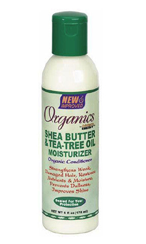 Africas Best Organics Shea Butter and Tea Tree Oil Moisturizer