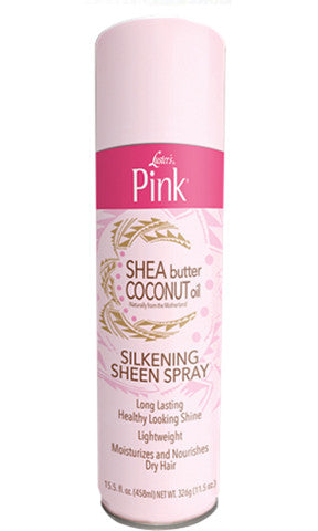 Luster's Pink Shea Butter Coconut Oil Silkening Sheen Spray (11.5 oz.)