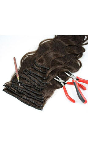 Lee Beauty Fusion Micro Ring Human Hair European Body 12 pieces