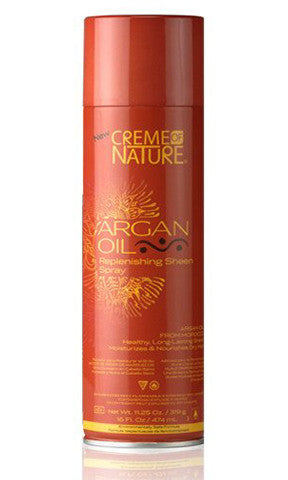 Creme Of Nature Argan Oil Replenishing Sheen Spray (16 oz.)