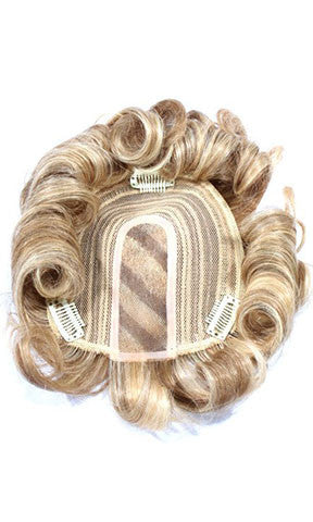 Hair Couture Clip & Go Hand Tied Top Piece - Ht Tp 002