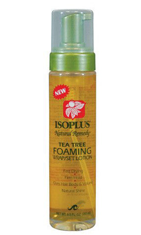 Isoplus Natural Remedy Tea Tree Foaming Wrap / Set Lotion