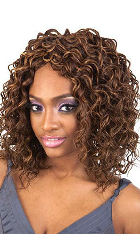 Isis Collection Enchantress Human Hair Premium Blend Weaving Deep Wave