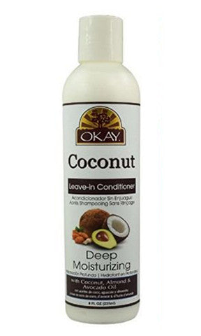 Okay Coconut Leave-in Conditioner Deep Moisturizing (8 fl. oz.)