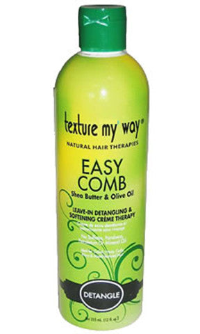 Texture My Way Easy Comb Leave In Detangling and Softening Creme Therapy