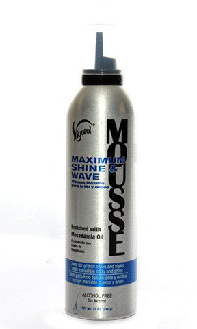 Vigorol Maximum Shine & Wave Mousse