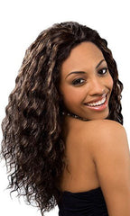 Zury Indian Remy Human Hair Wet and Wavy Loose Deep Weaving