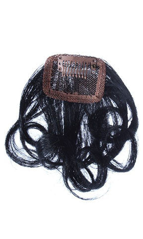 Hair Couture Clip & Go Hand Tied Top Piece 4 Inch 2pc