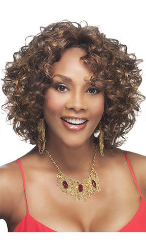 Vivica Fox Deep Lace Front Synthetic Wig Chilli