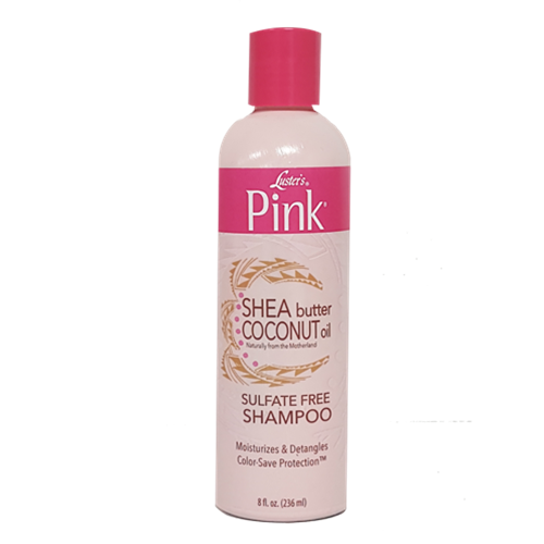 Luster's Pink Shea Butter Coconut Oil Sulfate Free Shampoo (12 fl. oz.)