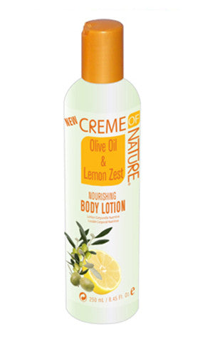 Creme of Nature Olive Oil and Lemon Zest Nourishing Body Lotion (8.45 fl oz.)