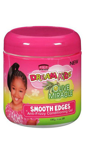 African Pride Dream Kids Olive Miracle Smooth Edges (6 oz.)