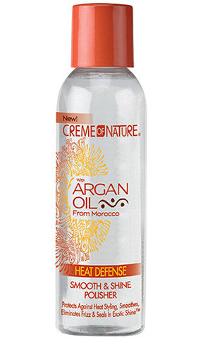 Creme of Nature with Argan Oil Heat Defense Smooth & Shine Polisher