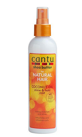 Cantu for Natural Hair Coconut Milk Shine and Hold Mist
