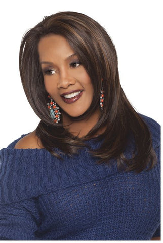 Vivica Fox Deep Lace Front Futura Synthetic Wig Celine