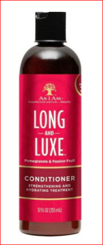 As I Am Long and Luxe Conditioner (Pomegranate & Passion Fruit) 12 oz